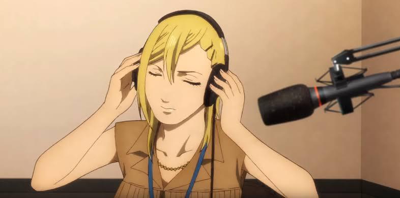 Anime sobre talk show em rádio
