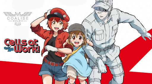 Imagem promocional de Cells at Work