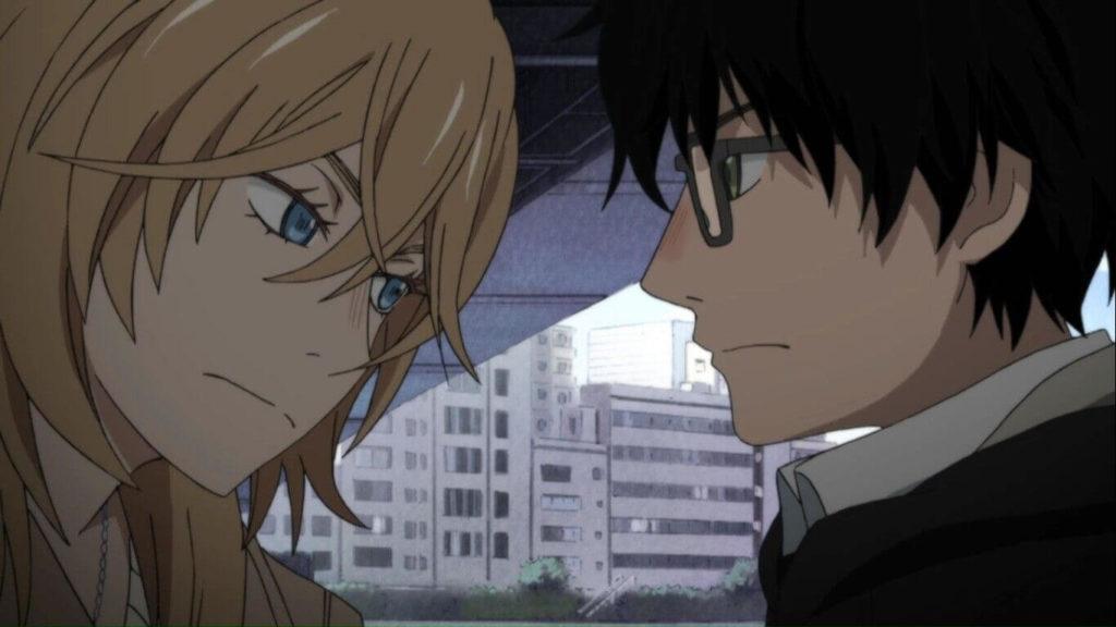 Sangatsu no Lion (March Comes in Like a Lion) - Rei e Kyouko