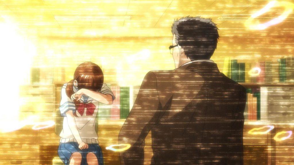 Sangatsu no Lion (March Comes in Like a Lion) - Hinata e o Professor.