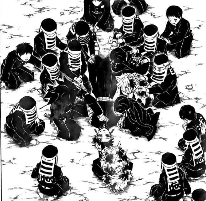Demon Slayer capítulo 203, Tanjiro retorna dos mortos