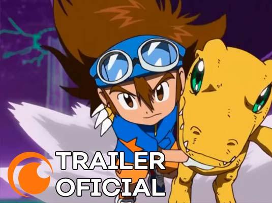 Digimon Adventure na Crunchyroll