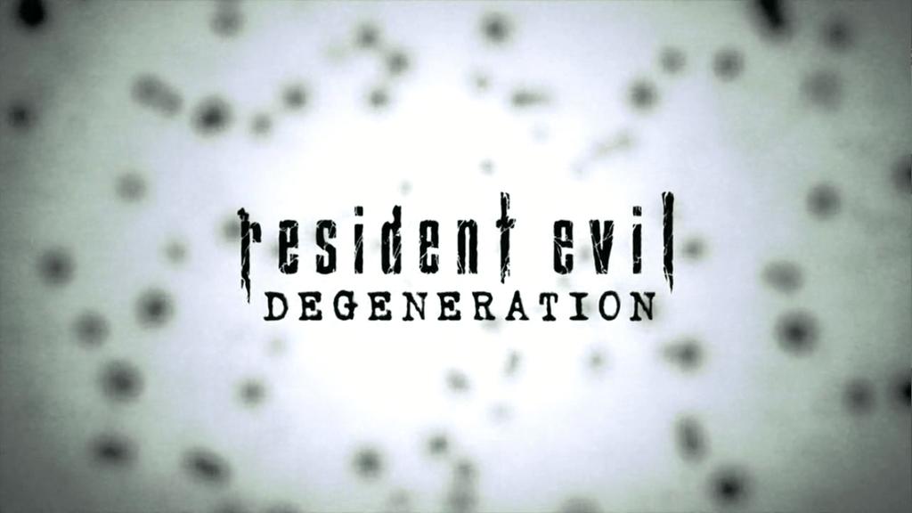 Imagem da introdução de Resident Evil - Degeneração