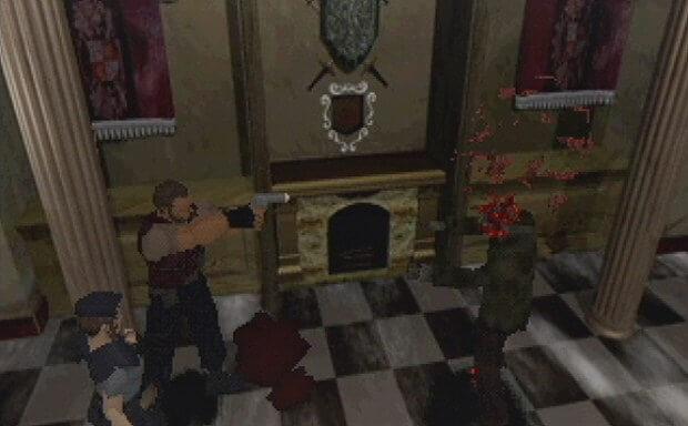 Cena do início de Resident Evil 1