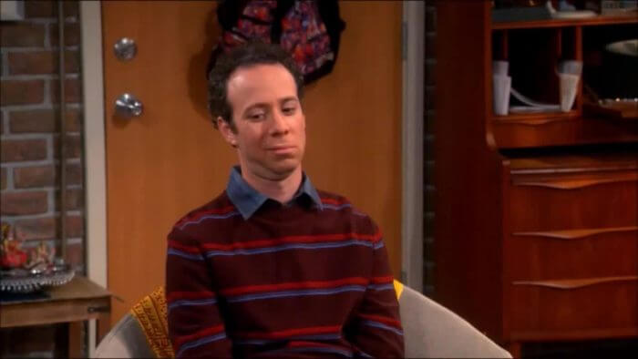 Stuart - Coadjuvante de The Big Bang Theory