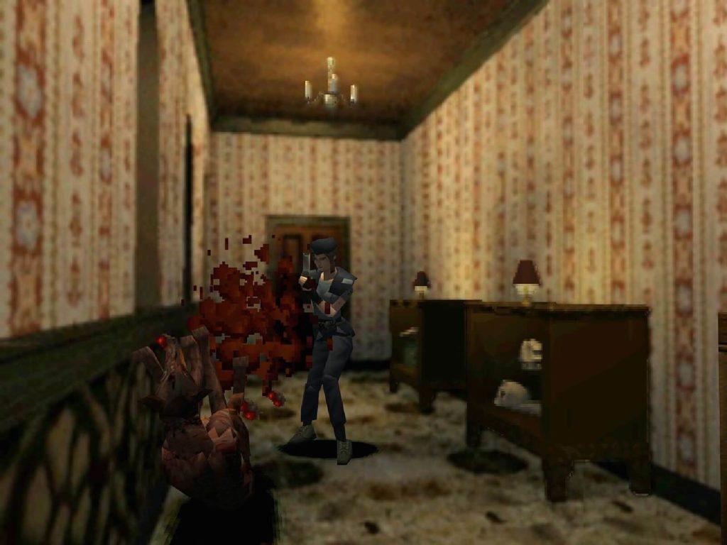 O primeiro ataque cardíaco de Resident Evil 1