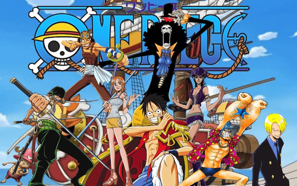 Capa da lista de melhores aberturas de One Piece.