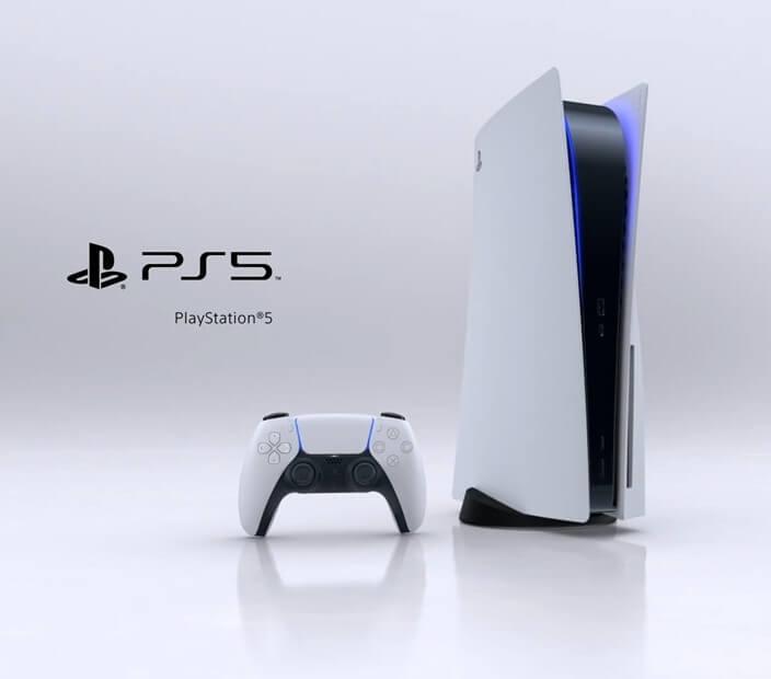 Imagem de divulgação do novo PS5