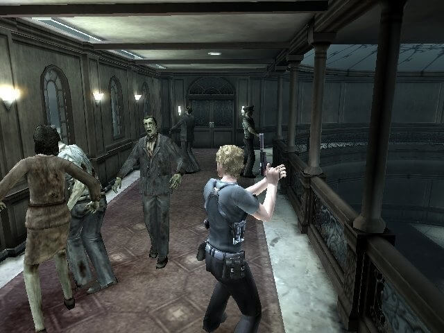 Cena da gameplay de Dead Aim.