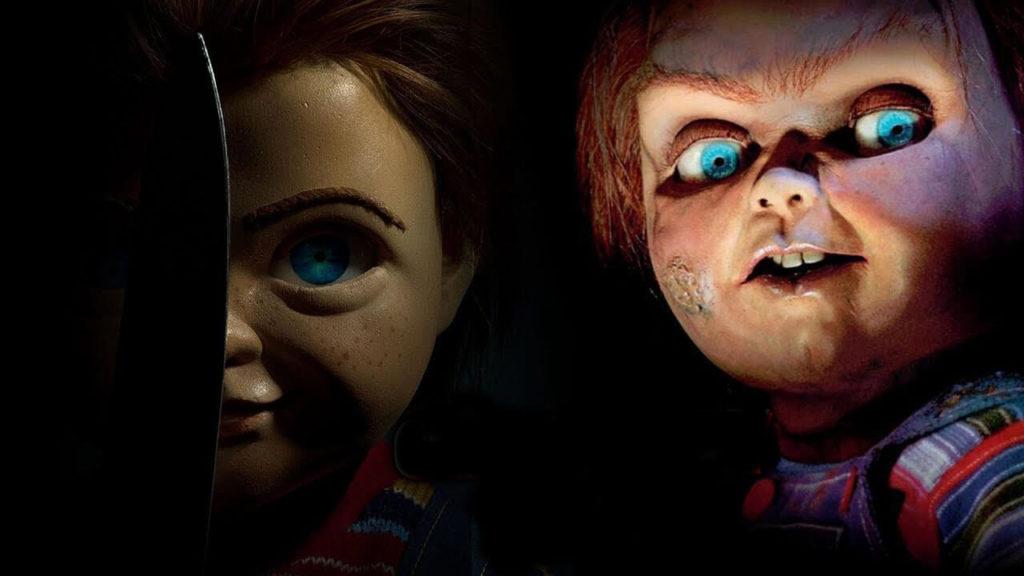 As duas versões de Chucky, o Brinquedo Assassino
