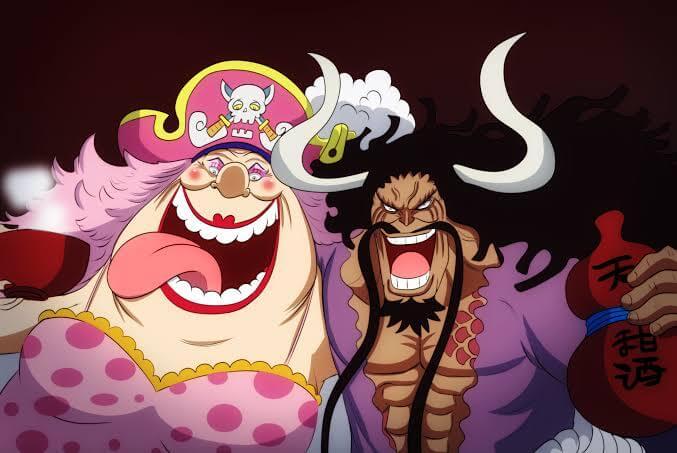 Teoria de One Piece sobre a aliança de Big Mon e Kaido.