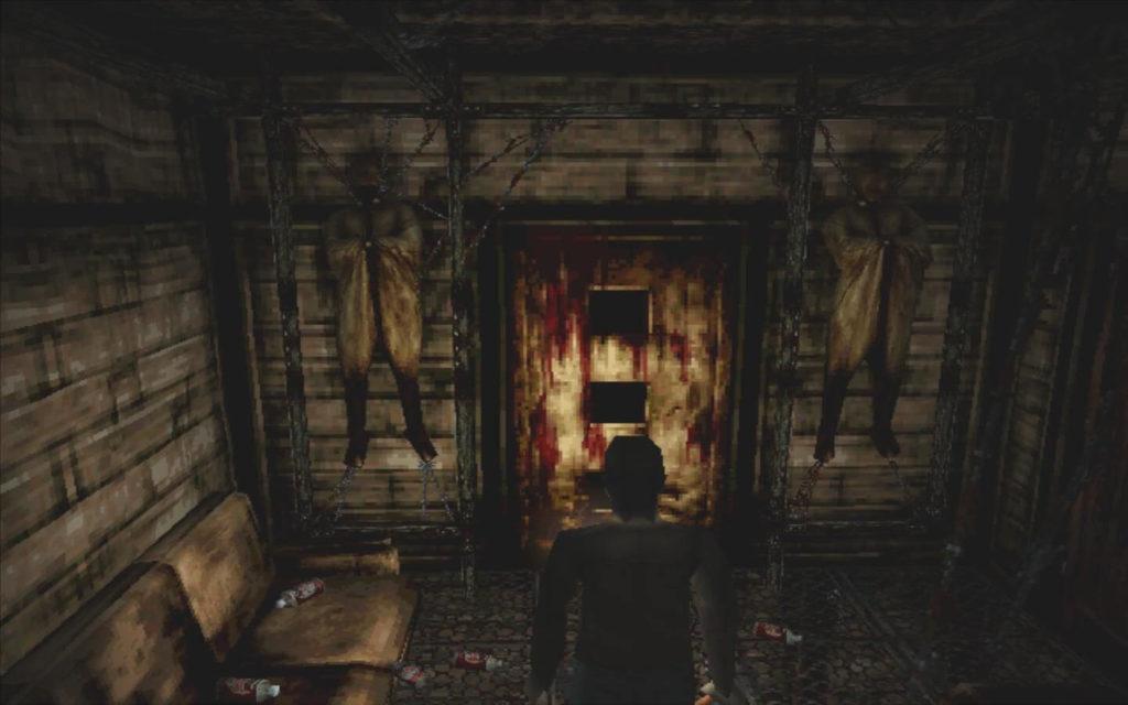 Cenário macabros compunham Silent Hill.