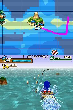 gameplay sonic caneta