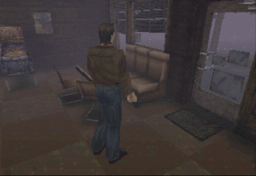 Cena inicial de Silent Hill