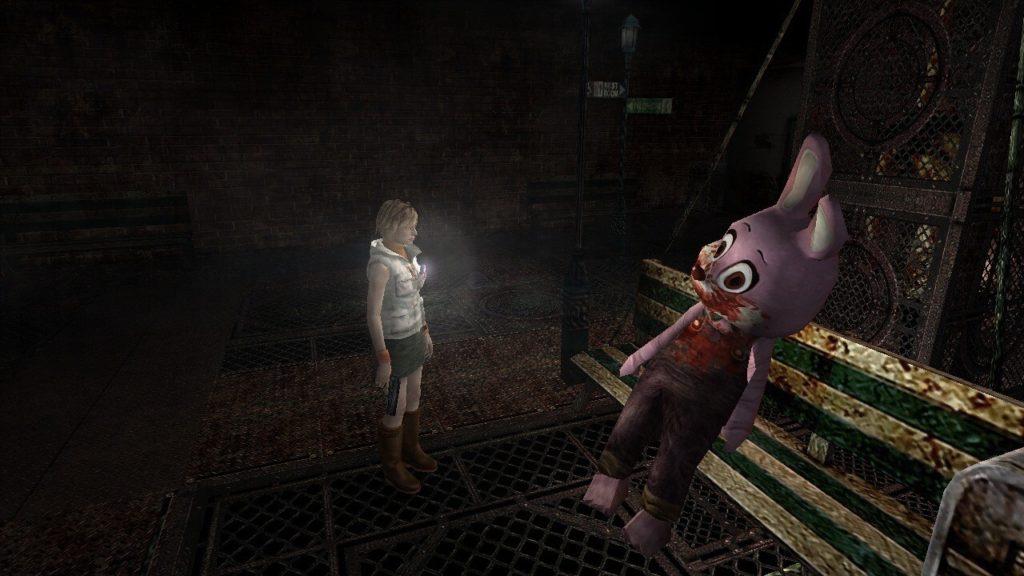 Cenário do parque, um dos melhores de Silent Hill 3.
