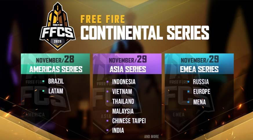 Garena anuncia competições de Free Fire