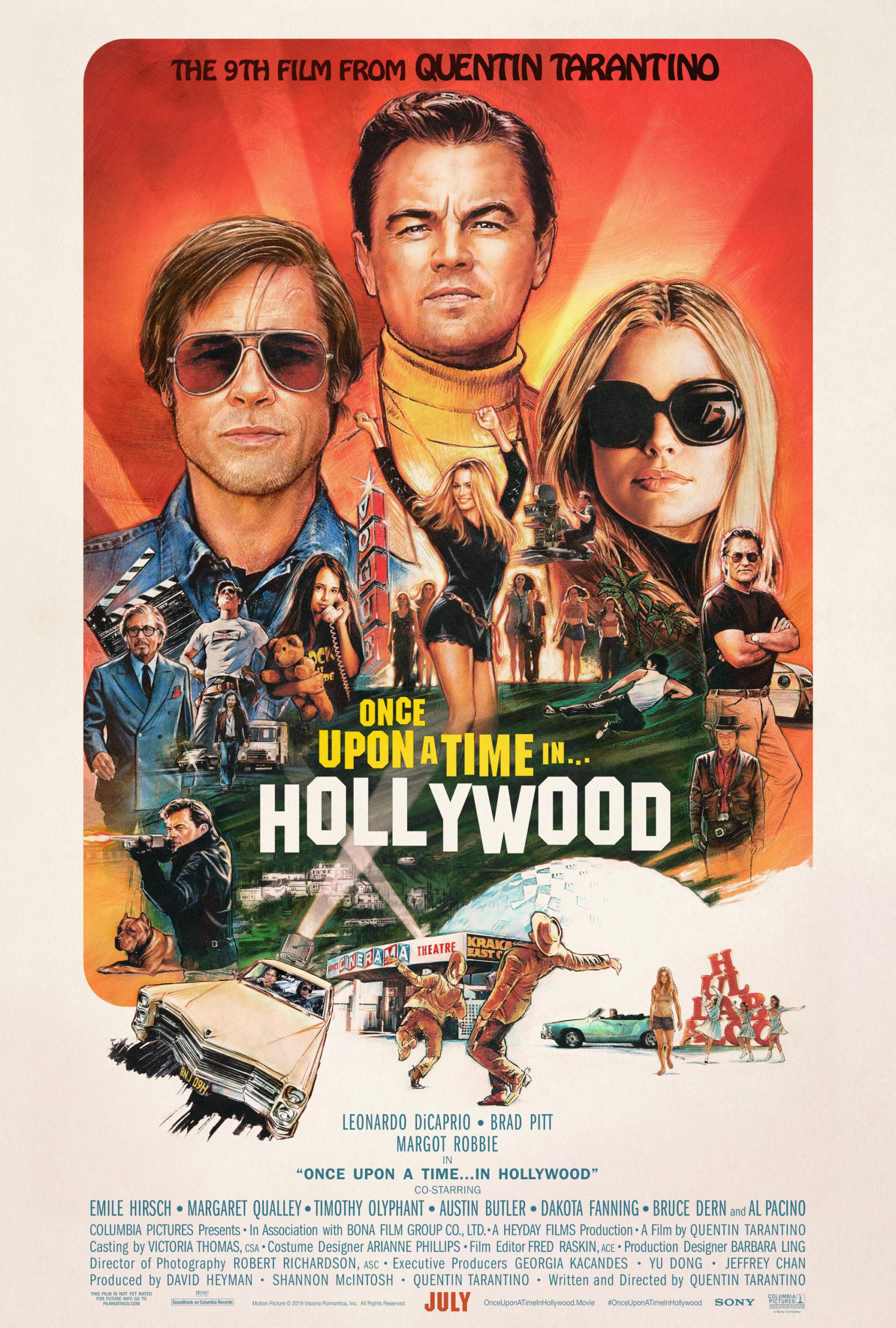 era-uma-vez-em-hollywood-resenha-poster