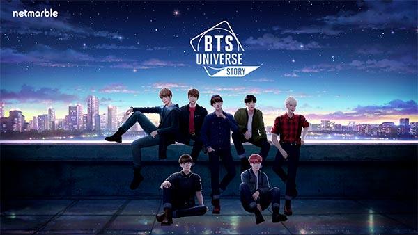 Pré-registro de BTS Universe Story