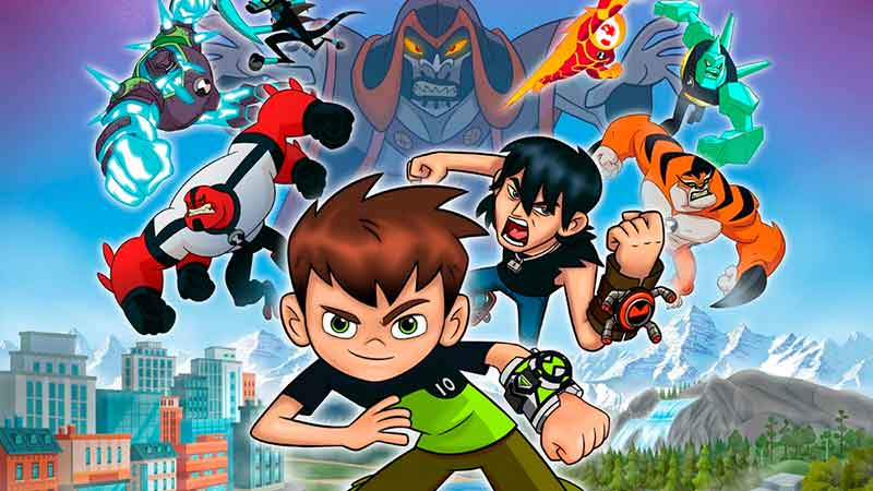 Ben 10 no PS4 e XBOX One