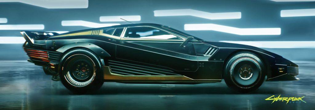 Carros Cyberpunk 2077