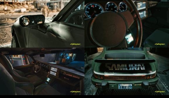 carros e motos Cyberpunk 2077