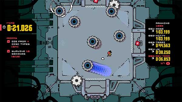 Disc Room, game indie