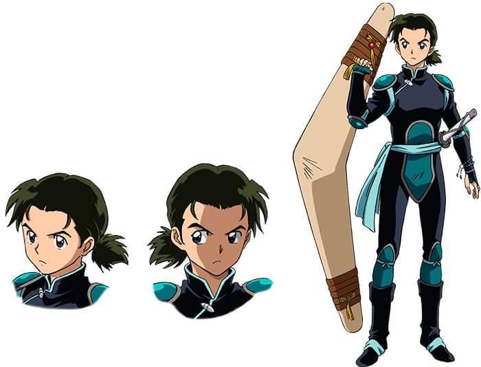 Os personagens de Yashahime