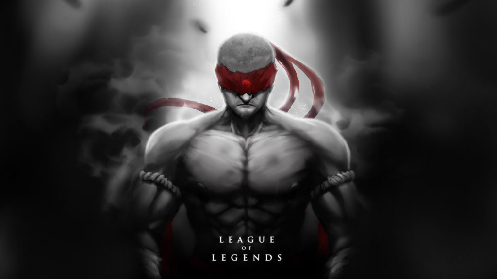 Imagem do personagem Lee Sin, de League of Legends.
