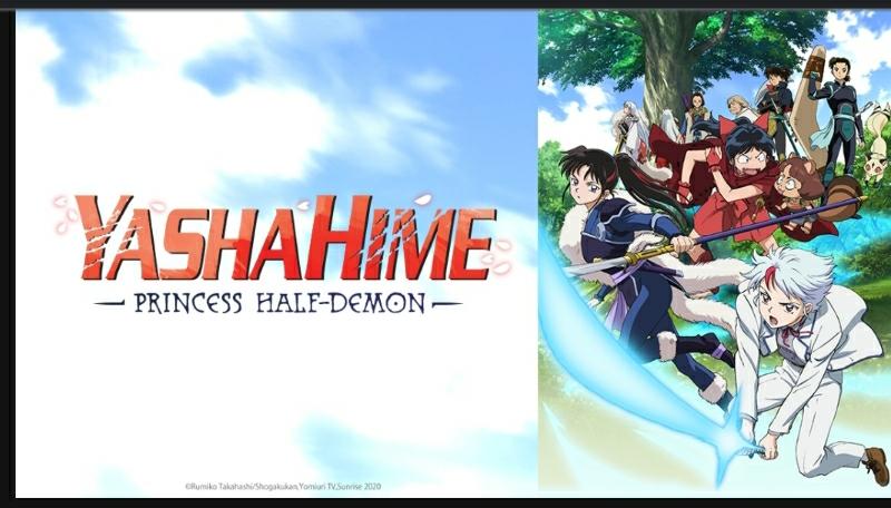 Yashahime: Princess Half-Demon dublado na Crunchyroll