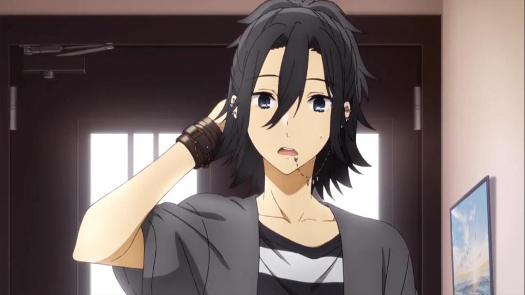 Miyamura Izumi, protagonista de Horimiya.