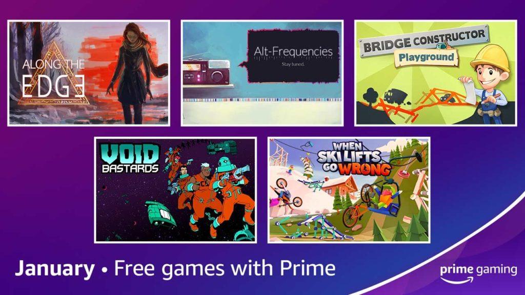Atualização Mensal do Prime Gaming