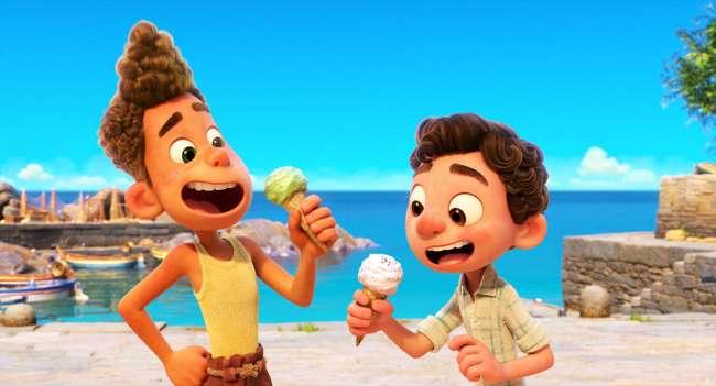 Luca - Trailer animado da Pixar