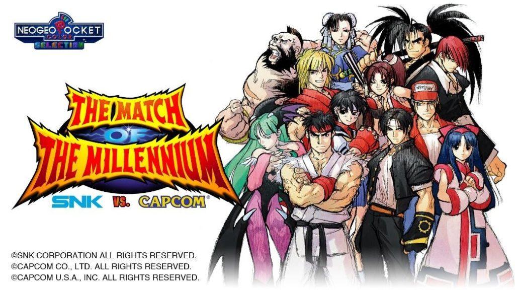 SNK VS. Capcom: The Match of The Millennium chega na Nintendo