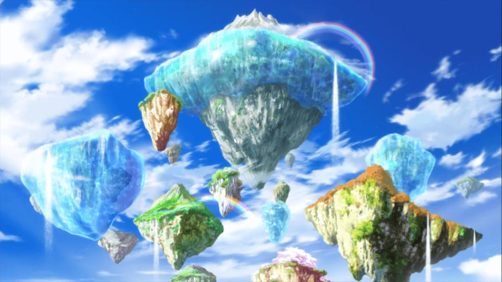 Animação de Strong World está linda.