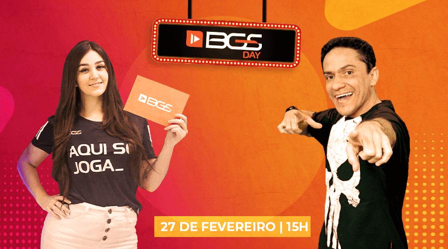 Primeiro BGS Day de 2021 acontece neste sábado (27/2)