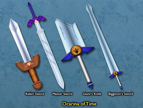 TOP 5 Espadas de Zelda