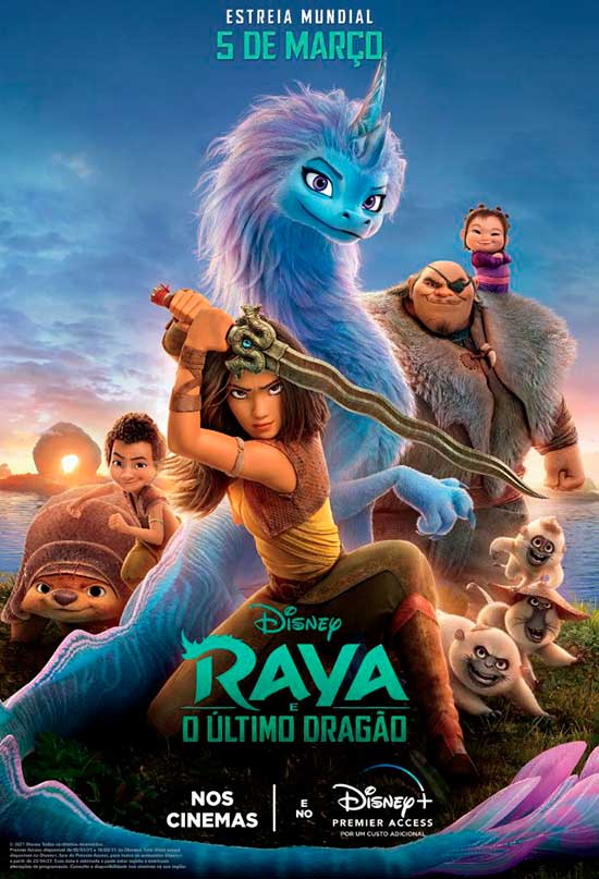 Crítica: Raya e o Último Dragão