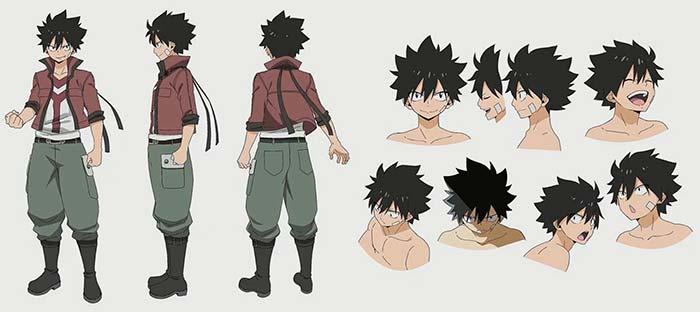 Os Personagens de Edens Zero