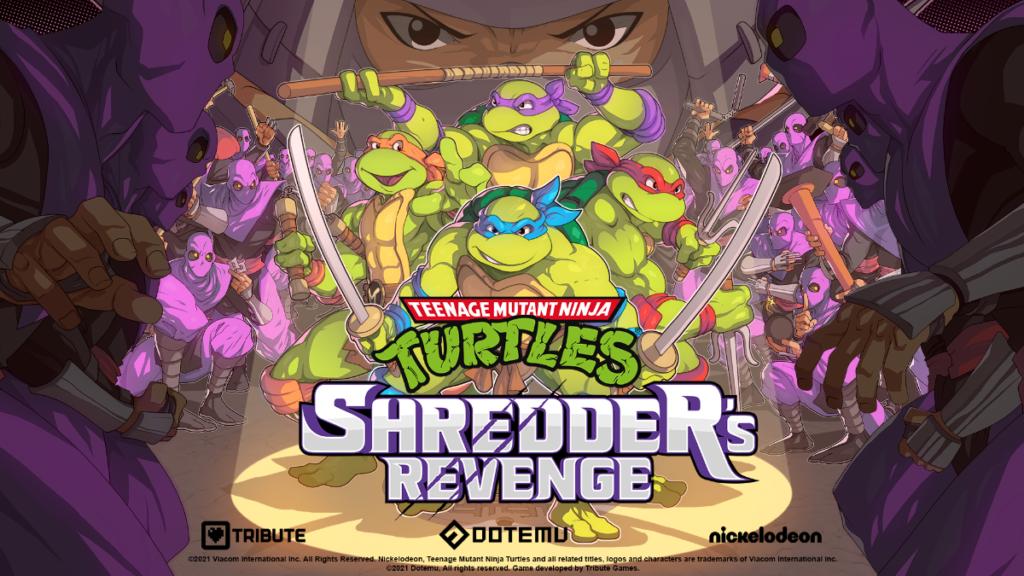 Teenage Mutant Ninja Turtles:Shredder's Revenge retorno radical