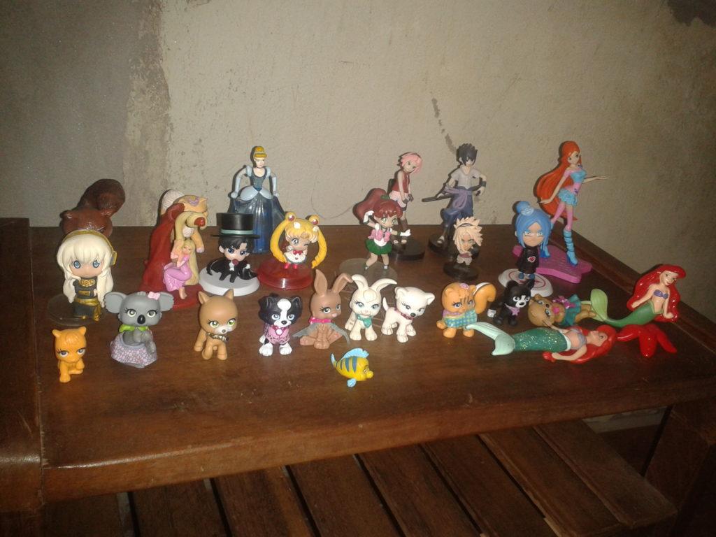 Miniaturas geeks de Graziela Maria