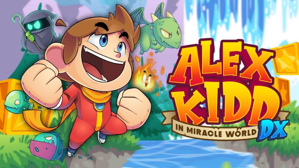 Alex Kidd in Miracle World DX chega ao Brasil
