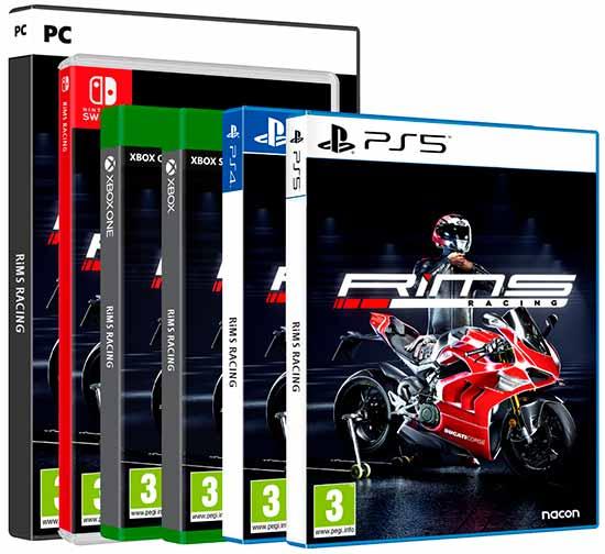 Game de corrida de motos RiMS Racing