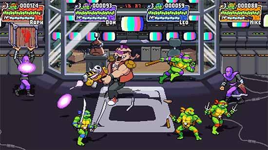 Trailer de Teenage Mutant Ninja Turtles: Shredder's Revenge