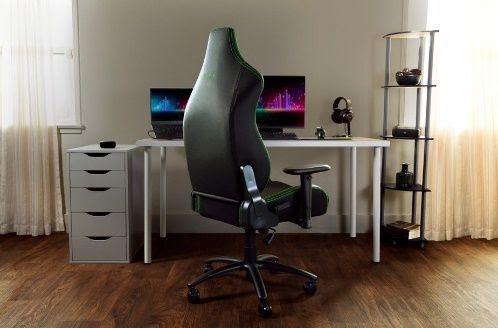 Nova cadeira gamer da Razer proporciona máximo conforto