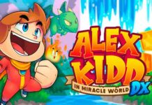 Lançamento de Alex Kidd in Miracle World DX