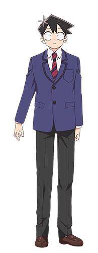 Os Personagens de Komi-san wa Komyushou Desu Tadano