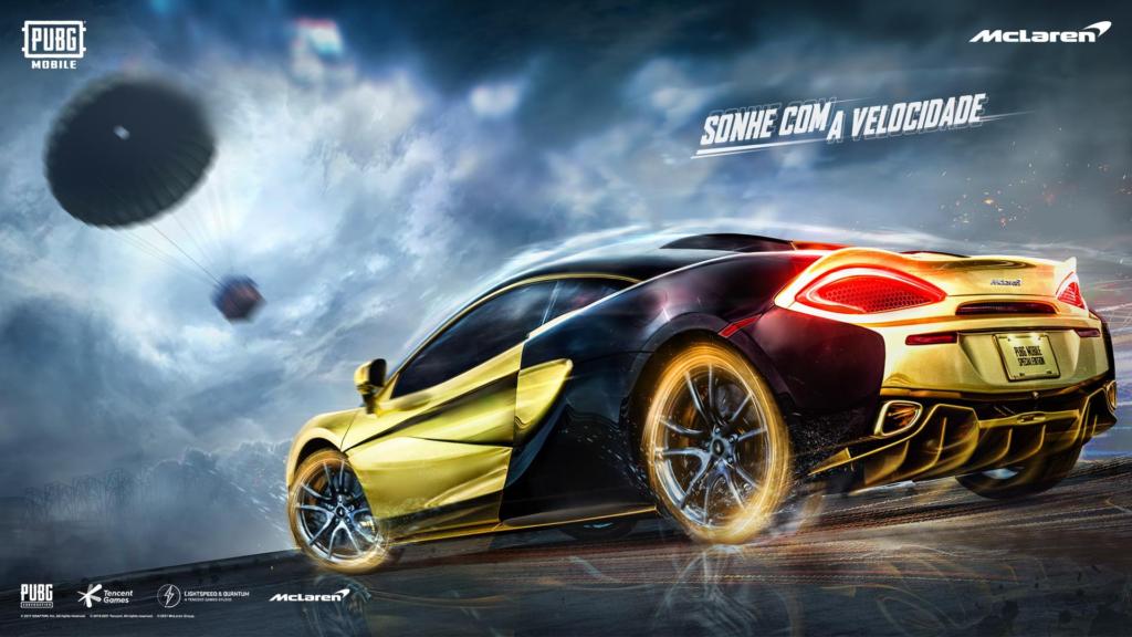 Você já pode dirigir uma McLaren no PUBG MOBILE
