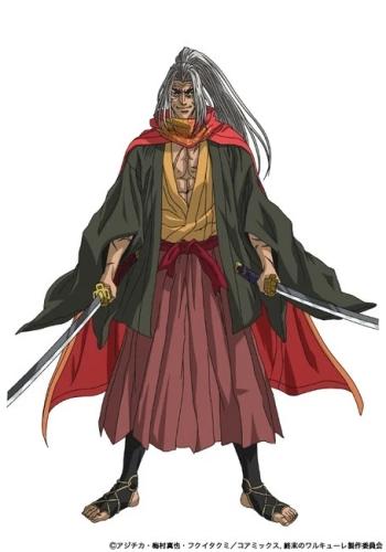 Kojiro Sasaki, um dos personagens de Record of Ragnarok