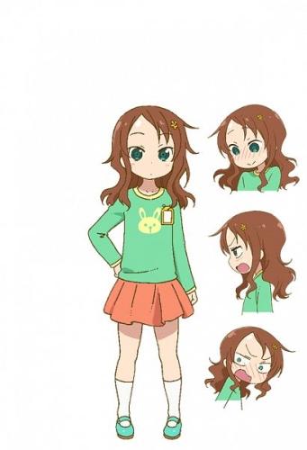 Riko Saikawa, personagens de Kobayashi-san