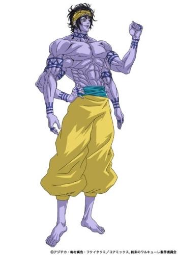 Shiva, um dos personagens de Record of Ragnarok